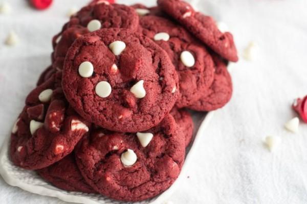 Red velvet μπισκότα σκέτη κόλαση!