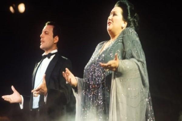 Φρέντι Μέρκιουρι και Μονσεράτ Καμπαγιέ μαζί... στην σκηνή! (Video)