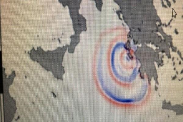 Συγκλονιστικό βίντεο: Πώς το τσουνάμι από τη Ζάκυνθο στην Ιταλία έφτασε σε 56 λεπτά!