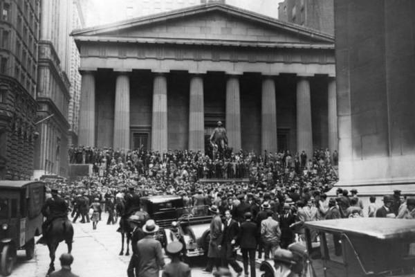 Σαν σήμερα, 24 Οκτωβρίου το 1929 έγινε η Χρηματιστηριακή Κρίση!