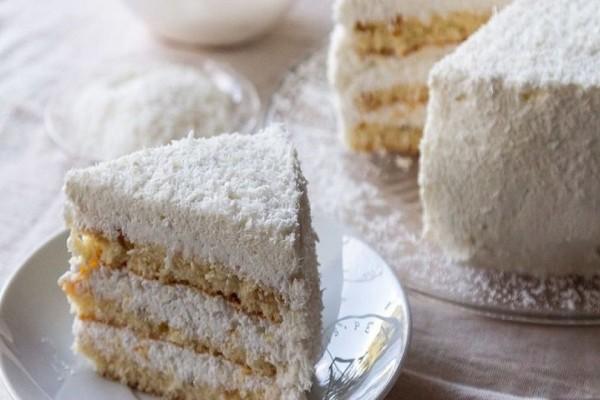 Κέικ καρύδας με ζαχαρούχο γάλα για αρχάριους!