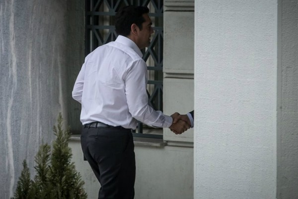 Η πρώτη μέρα του Αλέξη Τσίπρα στο υπουργείο Εξωτερικών (Photos)
