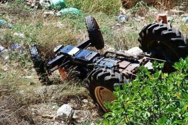Κέρκυρα: Τραγικό θάνατο βρήκε ένας άντρας που καταπλακώθηκε από το τρακτέρ του!