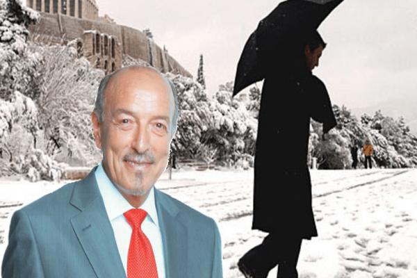 Τάσος Αρνιακός: Τσουχτερό κρύο και χιόνια στην Ελλάδα!