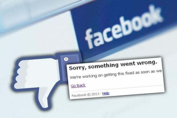 Μπλακ άουτ στο Facebook: Έπεσε σ' όλον τον πλανήτη!