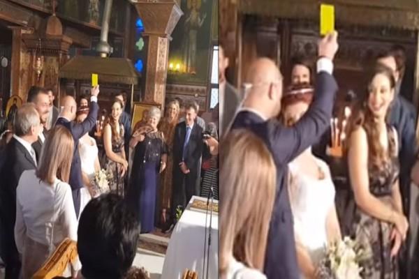 Έπος στην Πάργα: Νύφη πάτησε τον γαμπρό και αυτός της έβγαλε κίτρινη κάρτα! (video)