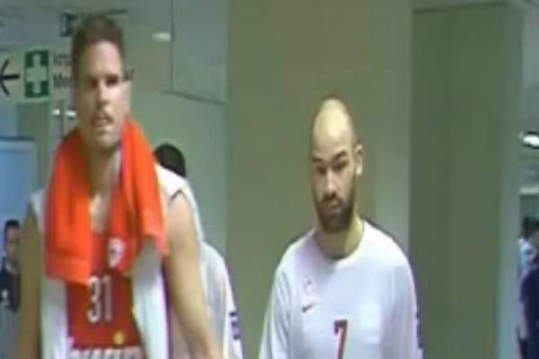 Παναθηναϊκός-Ολυμπιακός: Σπανούλης και Παππάς βρίζονται μπροστά στην κάμερα! (video)