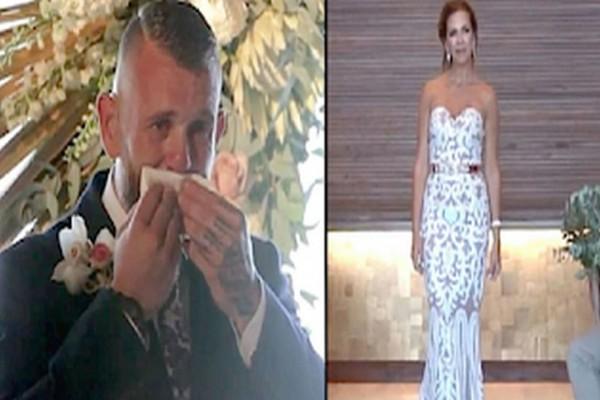 Ο γαμπρός δεν κατάλαβε γιατί η νύφη στάθηκε ακίνητη! Μόλις την είδε να σηκώνει το χέρι της, ξέσπασε!