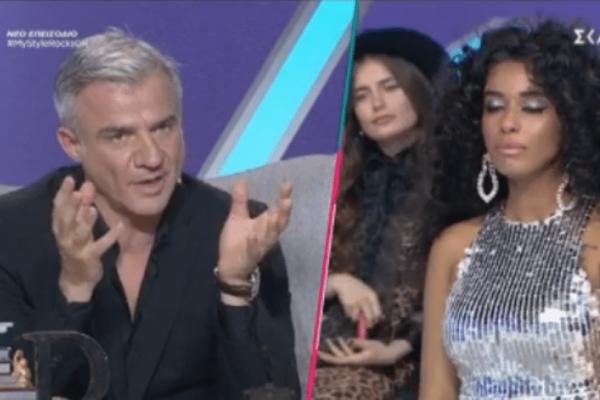 My style rocks 2 Gala: Το σχόλιο του Αργυρόπουλου στην Παπαδέλη! Τι της είπε; (video)