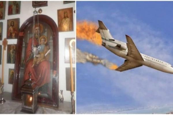 To μεγάλο θαύμα της Παναγίας: Η ανατριχιαστική μαρτυρία επιβάτη σε αεροπλάνο που πέφτει!