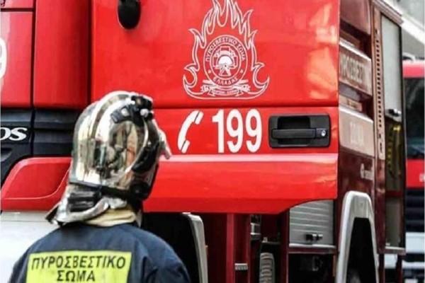 Πυρκαγιά σε διαμέρισμα στη Νίκαια!