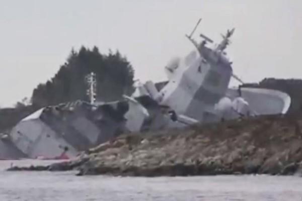 Ελληνικό τάνκερ συγκρούστηκε με φρεγάτα ανοιχτά της Νορβηγίας! (video)