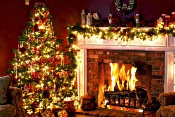 5 Ιδέες για χριστουγεννιάτικη διακόσμηση σαλονιού!