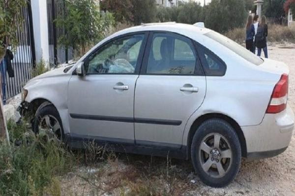 Ηράκλειο: Ανήλικοι πήραν κρυφά αυτοκίνητο και τράκαραν στο σχολείο!
