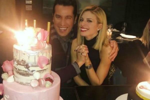 Ευαγγελία Αραβανή: Λαμπερά γενέθλια με τούρτα - υπερπαραγωγή!