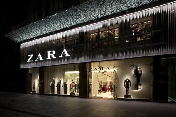 ZARA: Το υπέροχο μεταλιζέ φόρεμα που κοστίζει λιγότερο από 40 ευρώ!