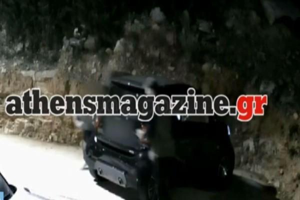 Βίντεο ντοκουμέντο: Ολόκληρο το βίντεο της δολοφονίας του Γιάννη Μακρή! Τι συνέβη όταν βγήκε από το αυτοκίνητο;