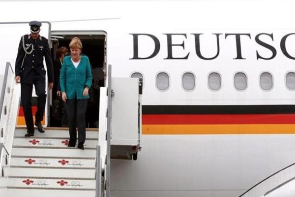 Κινδύνευσε να συντριβεί το αεροπλάνο της Άνγκελα Μέρκελ!