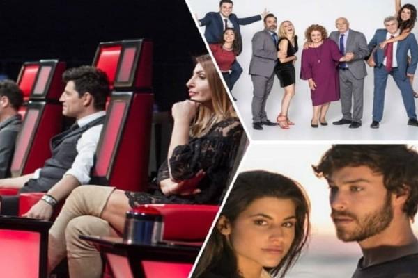 Τηλεθέαση: Τατουάζ, The voice, Μουρμούρα! - Ποιο πρόγραμμα κέρδισε το τηλεοπτικό κοινό;