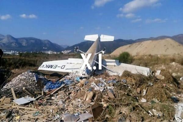 Συνετρίβη αεροπλάνο στην Ξάνθη!