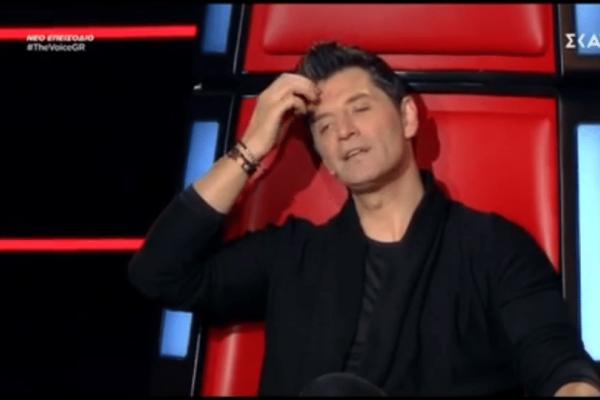 The Voice: Η απογοήτευση του Σάκη Ρουβά και η δυσκολία επιλογής! (video)