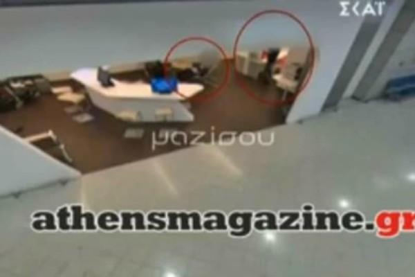 Καρέ καρέ η δράση σπείρας με διακεκριμένες κλοπές στο Αεροδρόμιο (video)