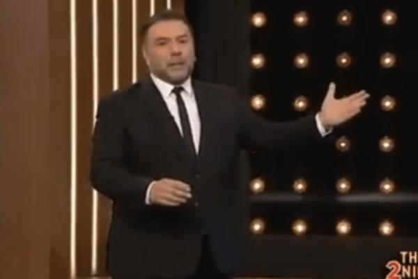 The tonight show: Λαμπερή πρεμιέρα για τον Γρηγόρη Αρναούτογλου! Τα πρώτα πλάνα... (Βίντεο)