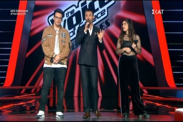The Voice: Ο Γιώργος Καπουτζίδης ραπάρει πάνω στη σκηνή! (video)