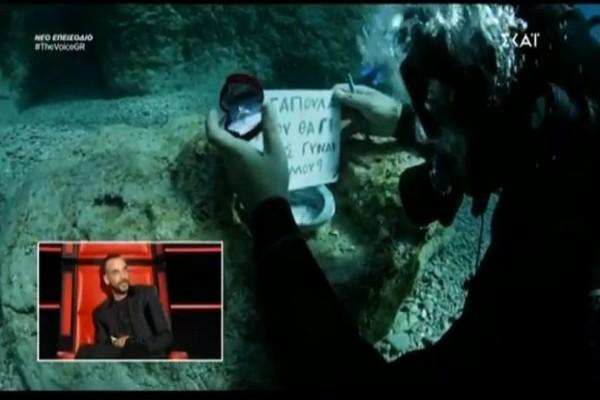 The Voice: Η Έλενα Παπαρίζου και η τρομερή πρόταση γάμου! (video)