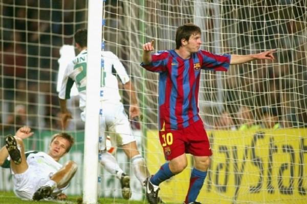 Το πρώτο γκολ του Μέσι στο Τσάμπιονς Λιγκ και ο Έλληνας παίκτης που έχει τη φανέλα του!