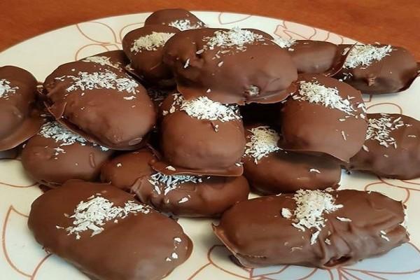 Πανεύκολα σοκολατάκια με ινδοκάρυδο με 3 υλικά!