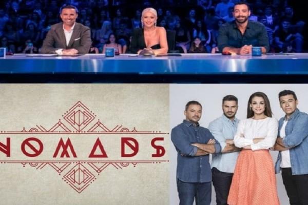 Τηλεθέαση: Ελλάδα έχεις ταλέντο, Nomads, Βake off! - Ποιο πρόγραμμα κέρδισε το τηλεοπτικό κοινό;