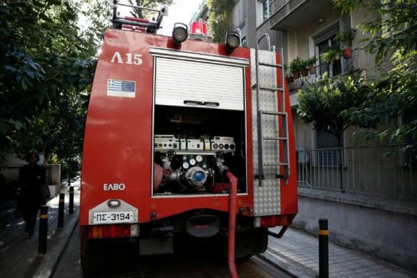 Θεσσαλονίκη: Φωτιά σε διαμέρισμα!