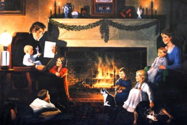 Απίστευτο: Δείτε τι στολίζαμε πριν το χριστουγεννιάτικο δέντρο!