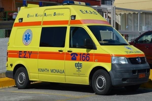 Τροχαίο με εγκλωβισμένους στο Ηράκλειο
