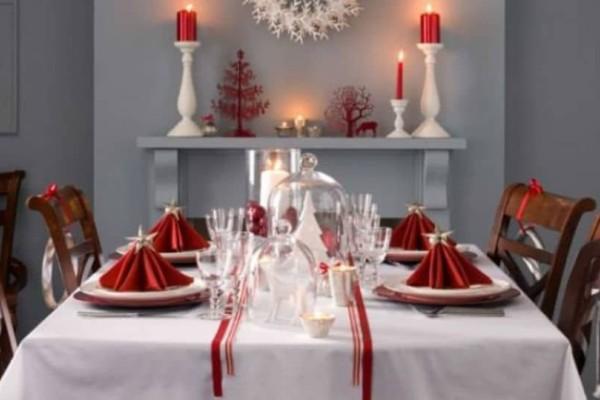 Χριστουγεννιάτικος στολισμός: Πάρτε ιδέες για την διακόσμηση του τραπεζιού σας!