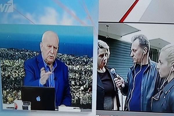 Απίστευτο: Ο μεγάλος ανταγωνιστής του Γιώργου Παπαδάκη στην εκπομπή του!