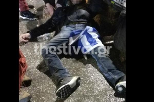 Ήθελα να τον σκοτώσουν: 29χρονος πήγε με την ελληνική σημαία στην ομιλία του Τσίπρα και τον έσπασαν στο ξύλο