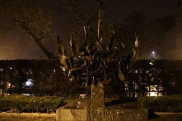 Θεσσαλονίκη: Παρέμβαση εισαγγελέα για την βεβήλωση του μνημείου του Ολοκαυτώματος