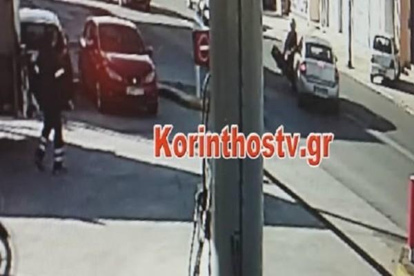 Τροχαίο-σοκ στην Κόρινθο: Οδηγός μηχανής