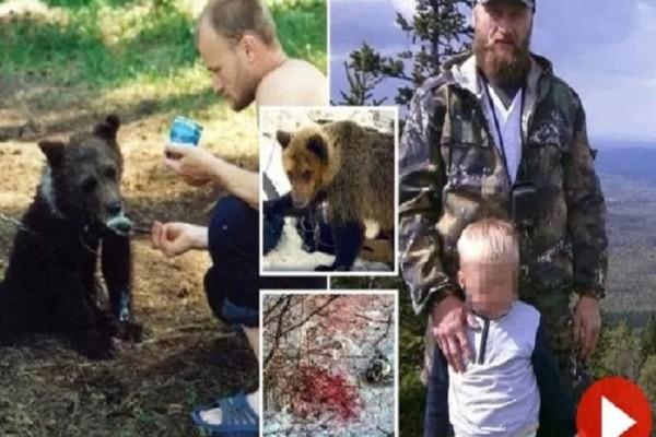 Φρίκη: Αρκούδα κατασπάραξε τον κυνηγό που της είχε σώσει τη ζωή! (video)