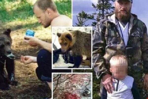 Φρίκη: Αρκούδα κατασπάραξε τον κυνηγό που της είχε σώσει τη ζωή και την μεγάλωνε σαν κατοικίδιο