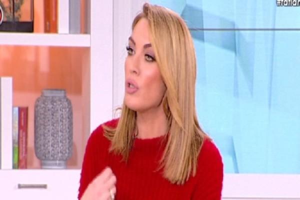 Τατιάνα Στεφανίδου: Το απίστευτο σαρδάμ της παρουσιάστριας! - «Του το έμαθε μια ρομά χαμ@@@κι» (video)