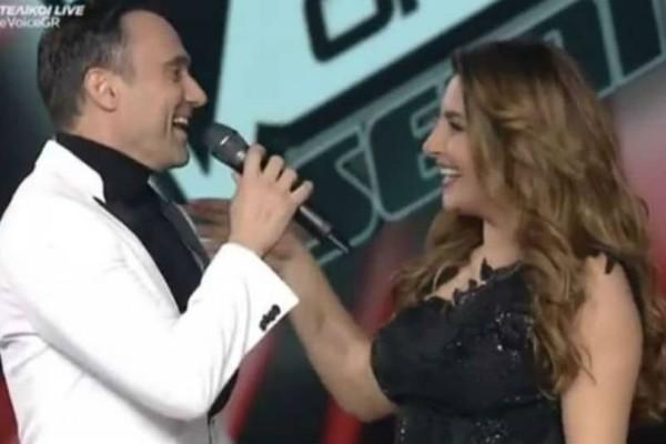 The Voice: Συγκινήθηκε! Η απίστευτη έκπληξη του Καπουτζίδη στην Έλενα Παπαρίζου!