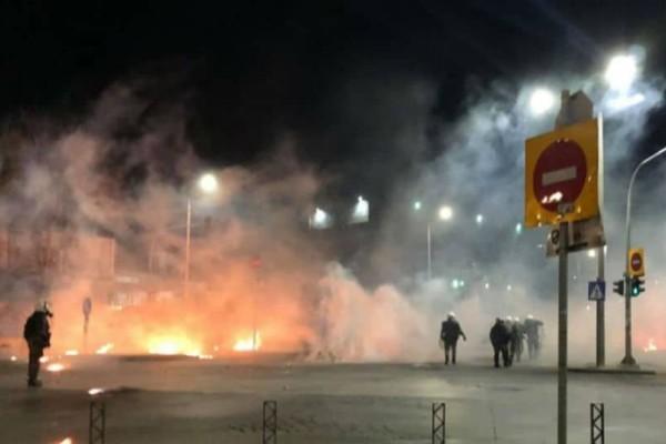 Θεσσαλονίκη: Eργοτάξιο του μετρό και βρεφονηπιακός σταθμός τυλίχθηκαν στις φλόγες!