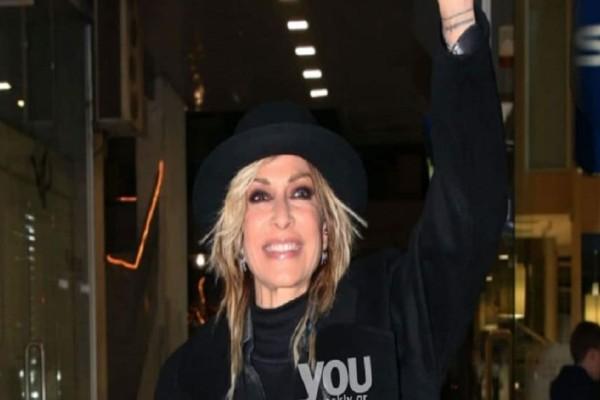 Άννα Βίσση: Εντυπωσιακή ακόμα και στα 60 της η τραγουδίστρια!