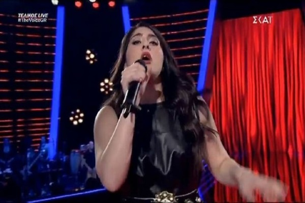The Voice: Η απολαυστική εμφάνιση της Αριάδνης Νεοφύτου! (video)