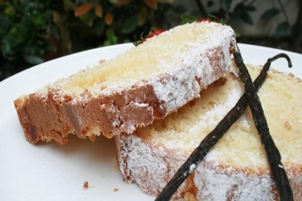 Το πιο εύκολο και γρήγορο κέικ βανίλιας! (video)