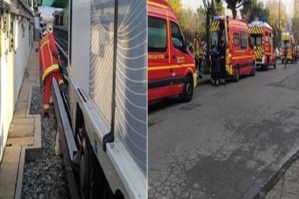 Τρόμος στη Μασσαλία: Εκτροχιάστηκε συρμός του μετρό! - Τουλάχιστον 10 τραυματίες!