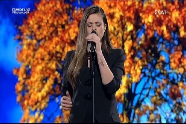 The Voice: Συγκλόνισε η Μαρίνα Τζιάνγουιρθ! (video)